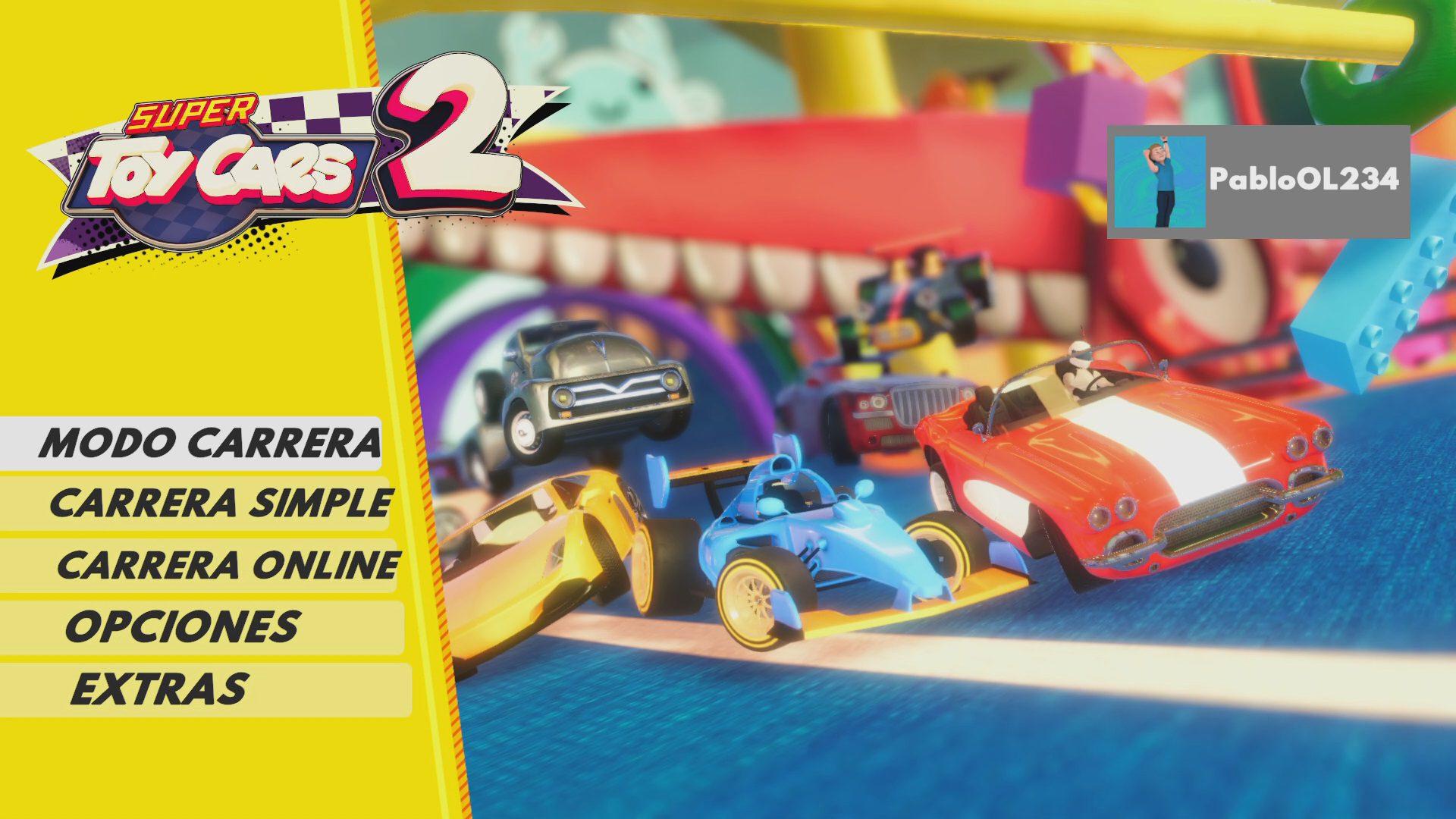 Modos de juego Super Toy Cars 2