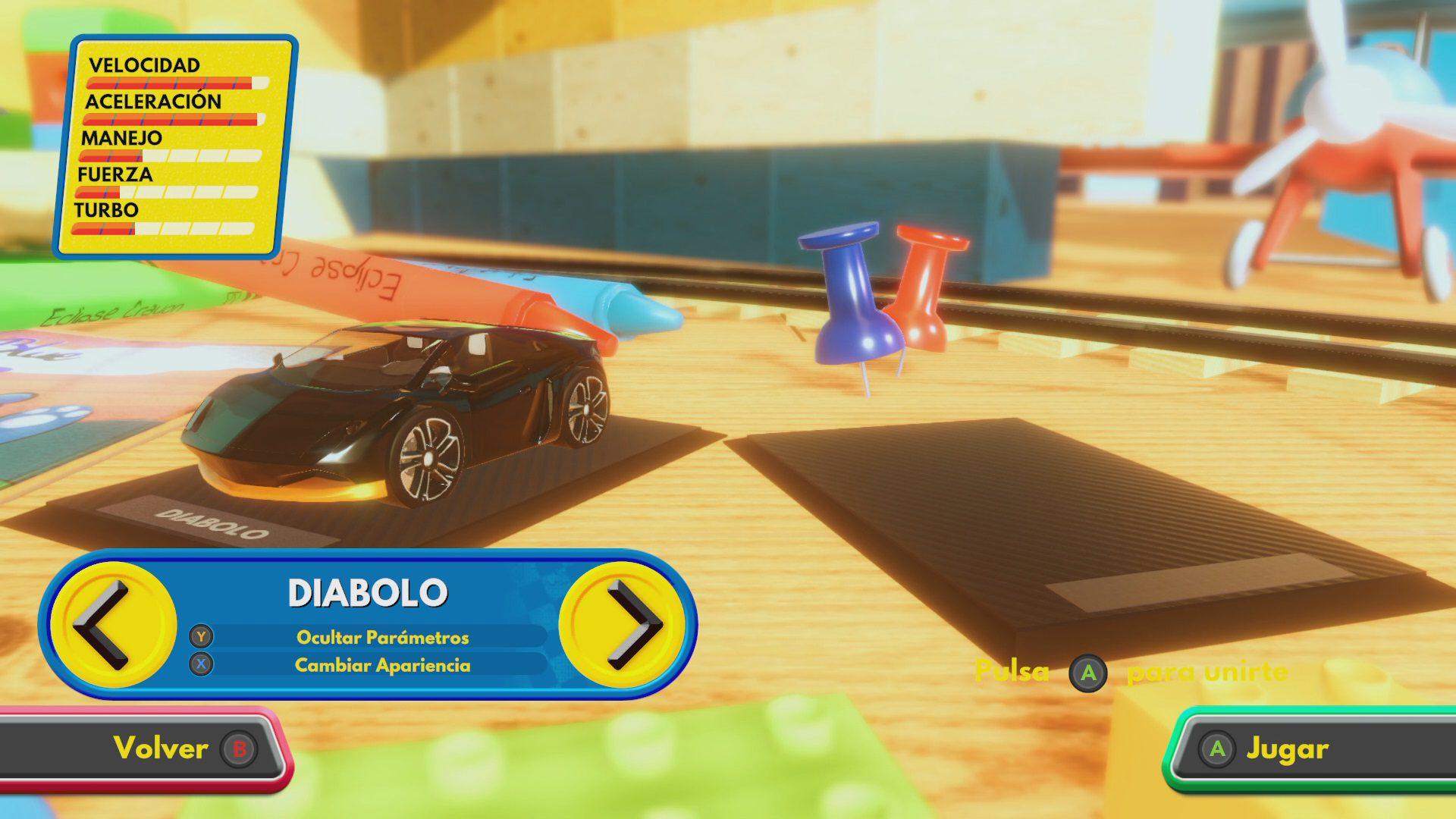 Multijugador local Super Toy Cars 2