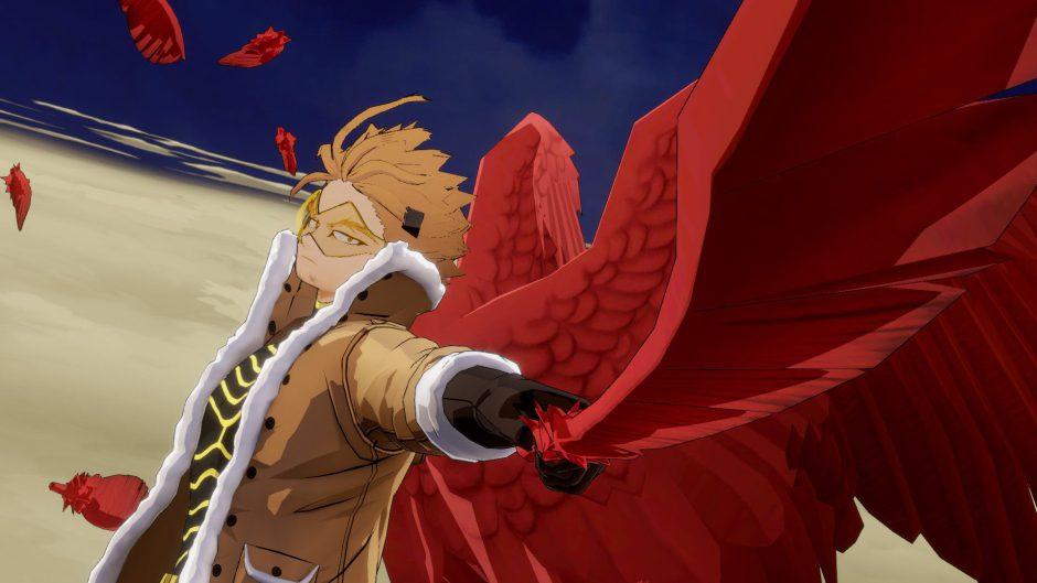 Hawks protagoniza el nuevo tráiler de My Hero One's Justice 2