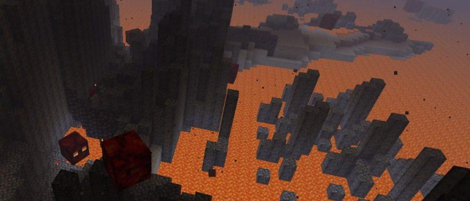 Minecraft añade el bioma de basalto y mucho más a la Nether Update