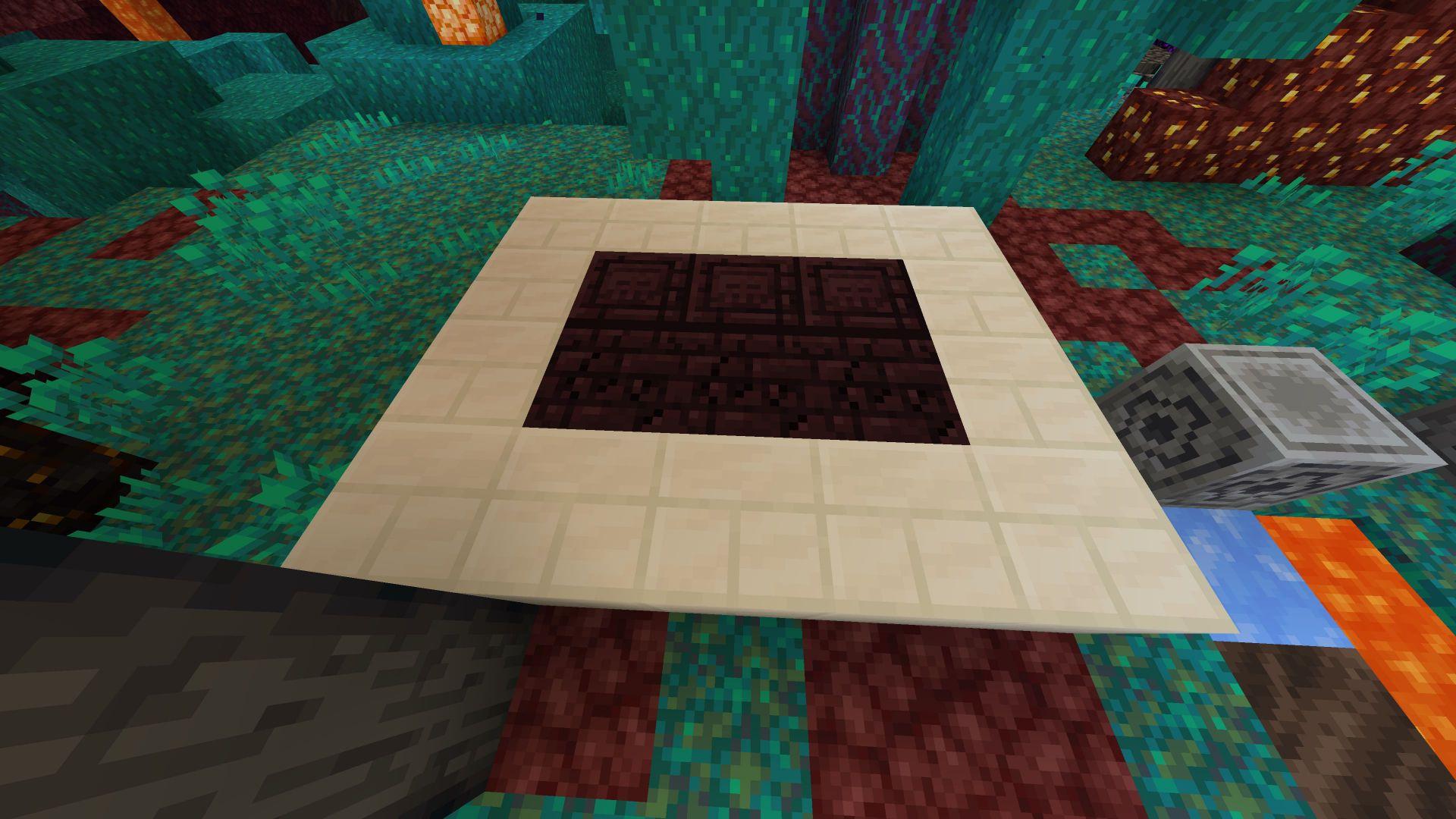 Nuevos bloques de ladrillo y agrietados del Nether, asi como ladrilo de Cuarzo en la Snapshot 20W15A de Minecraft Nether Update