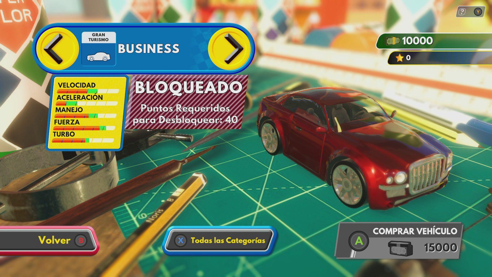 Requisitos para desbloquear coches en Super Toy Cars 2