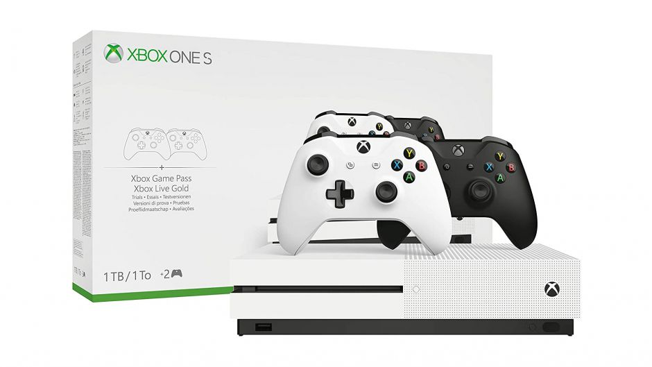 Oferta: Xbox One S + 2 mandos en Amazon