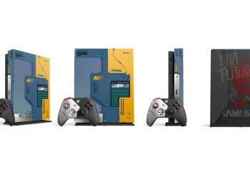 Así es la edición especial de Xbox One X dedicada a Cyberpunk 2077