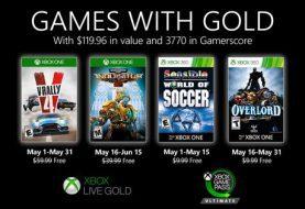 Ya están disponibles para descargar los primeros Juegos con Gold del mes de mayo