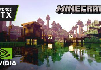 Minecraft con RTX se luce con novedades para la beta y nuevo tráiler