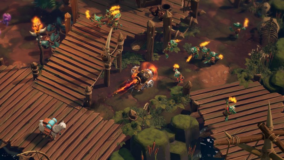 Torchlight III introduce una nueva mecánica en la saga, los Fuertes
