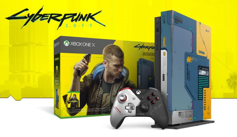 El último modelo de Xbox One X de edición limitada que existirá será el de Cyberpunk 2077