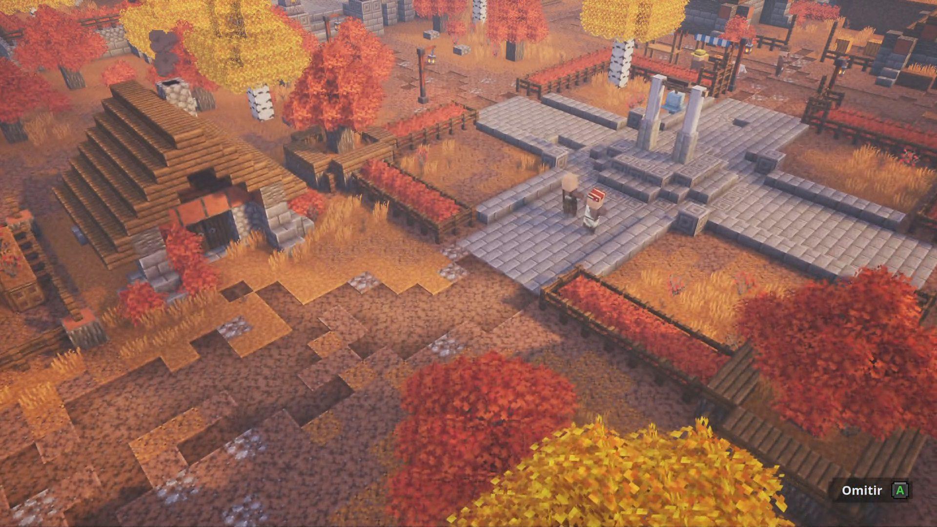 Aldea de Minecraft Dungeons