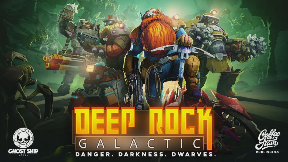 The theme of the Deep Rock Galactic the first out of the entrance to the PC and Xbox One