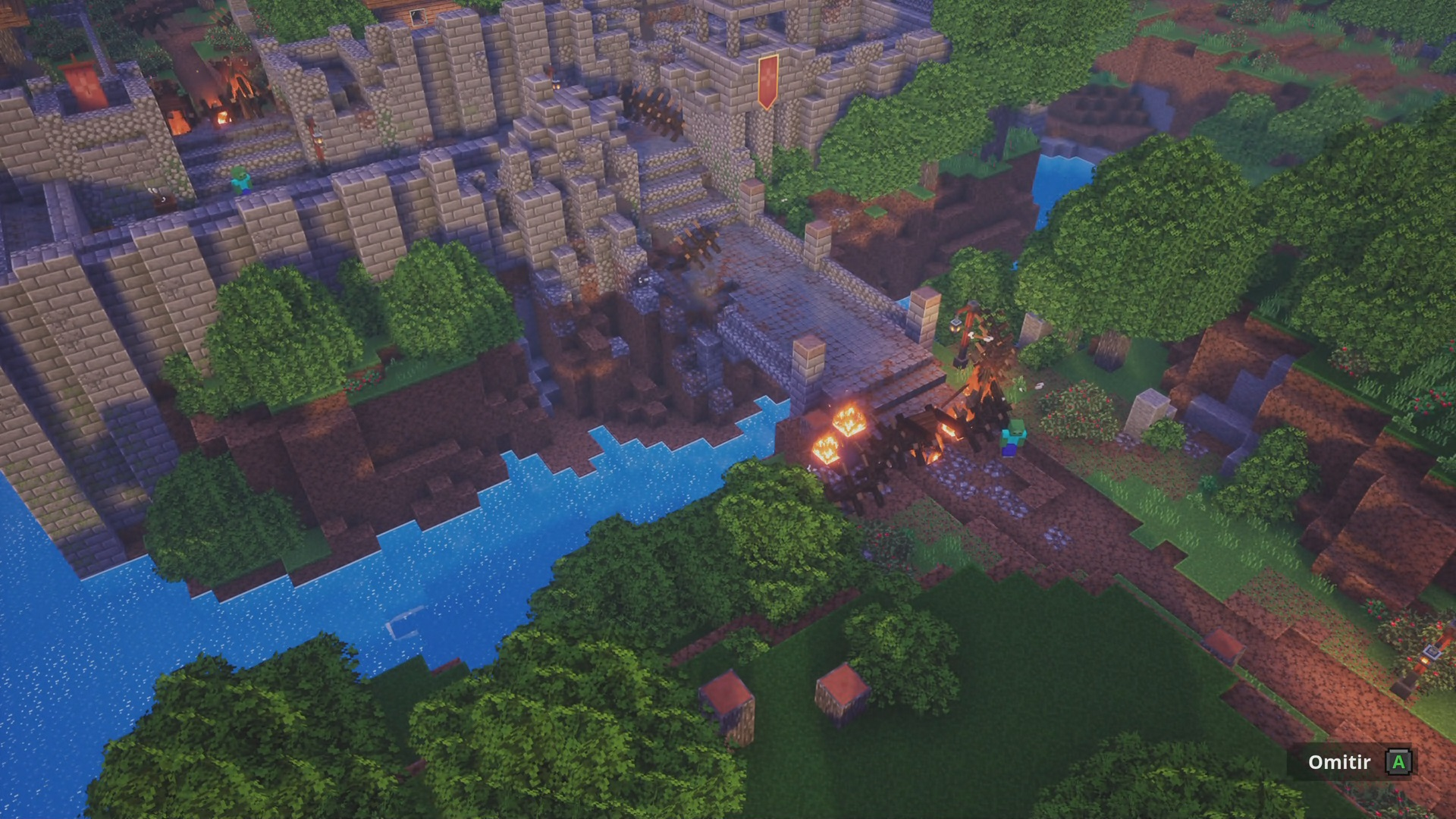 Diseño de Minecraft Dungeons 1