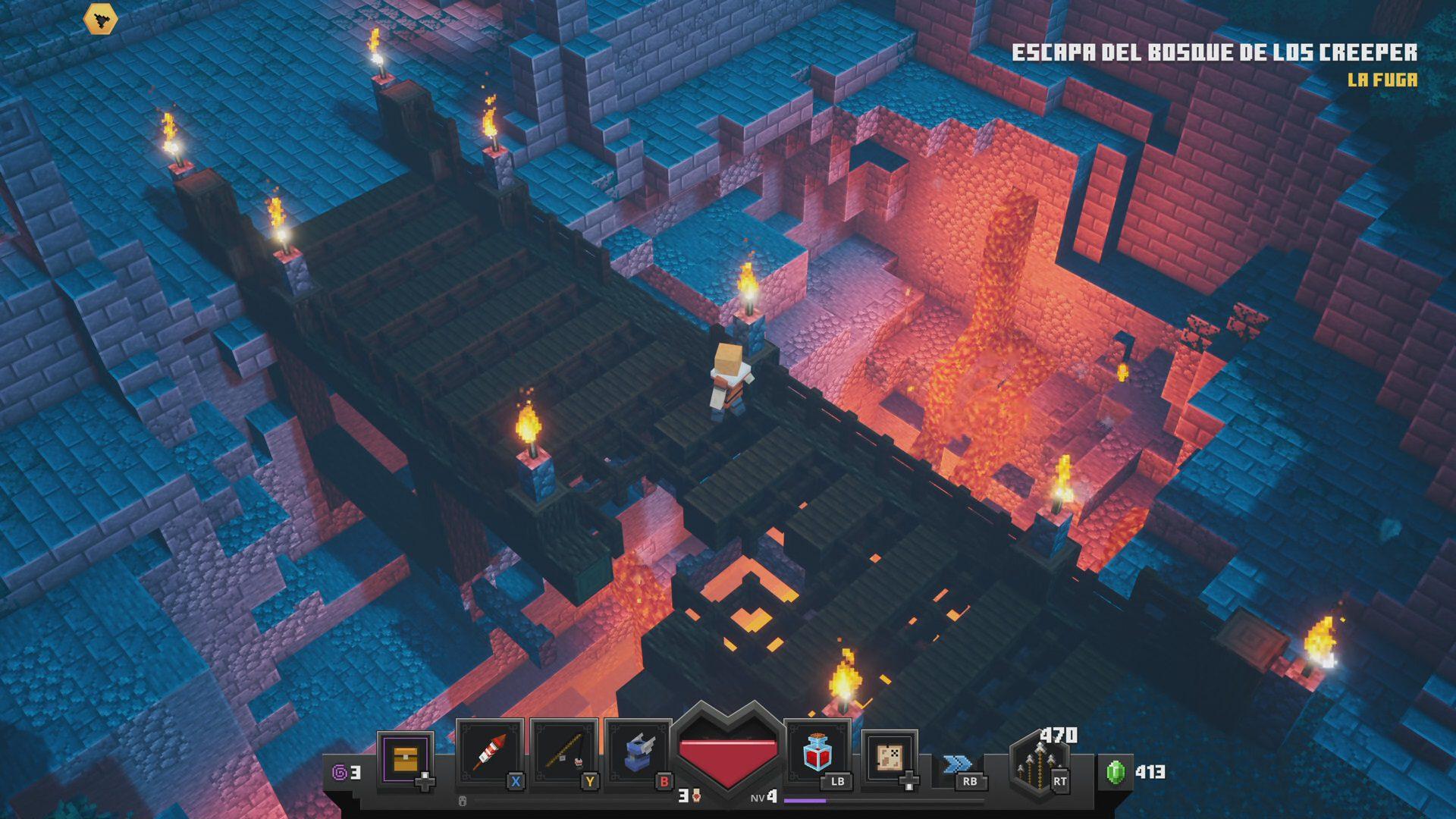 Diseño de Minecraft Dungeons 2