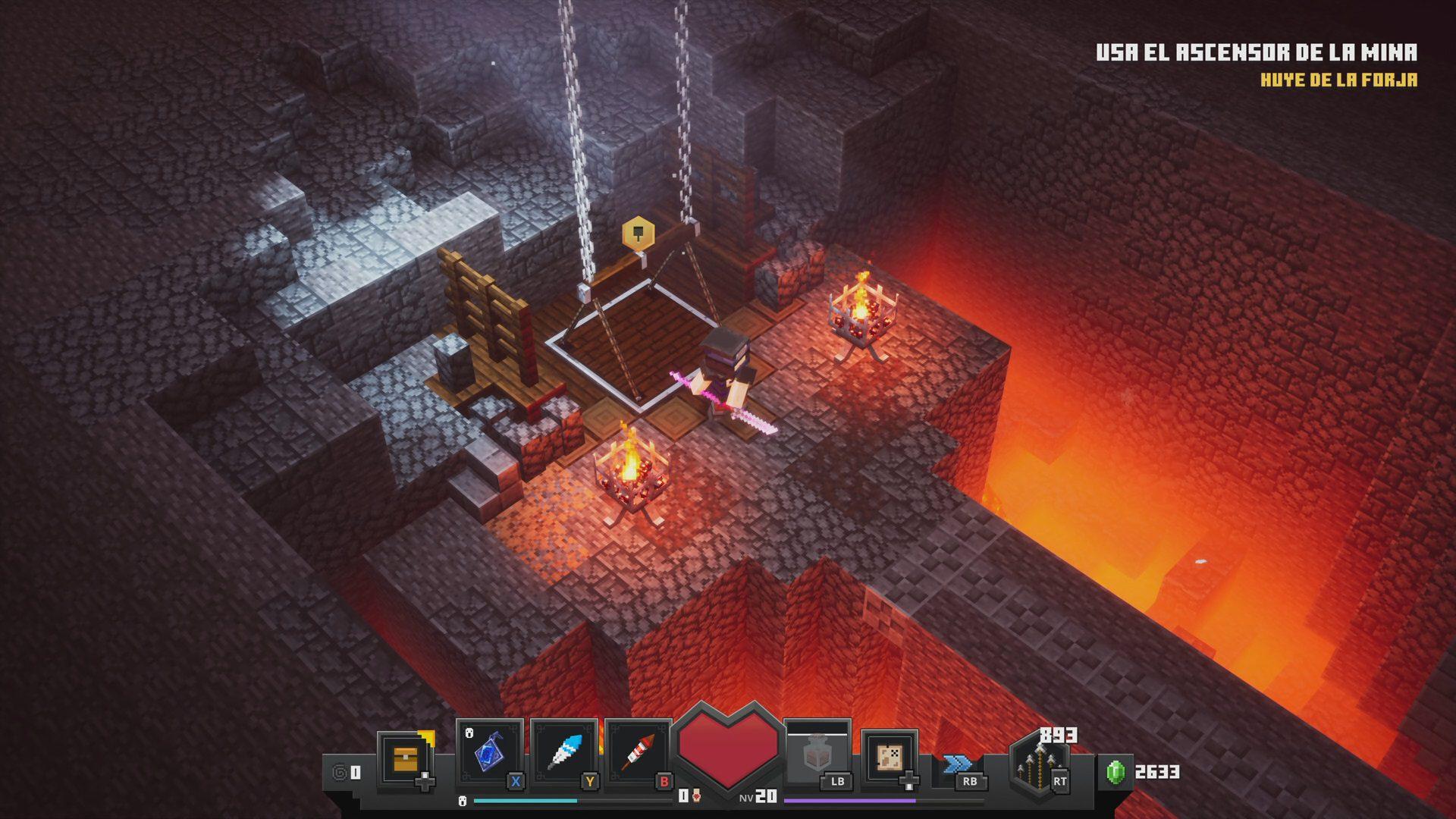Diseño de Minecraft Dungeons 4