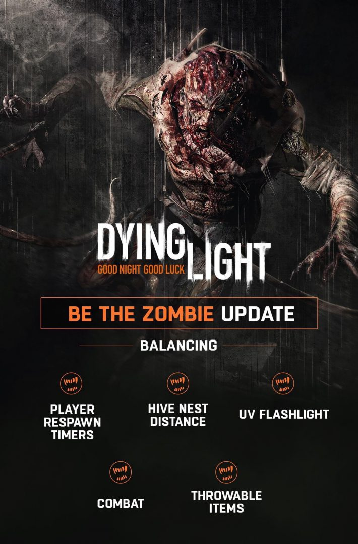 Dying LIght Be the Zombie Update