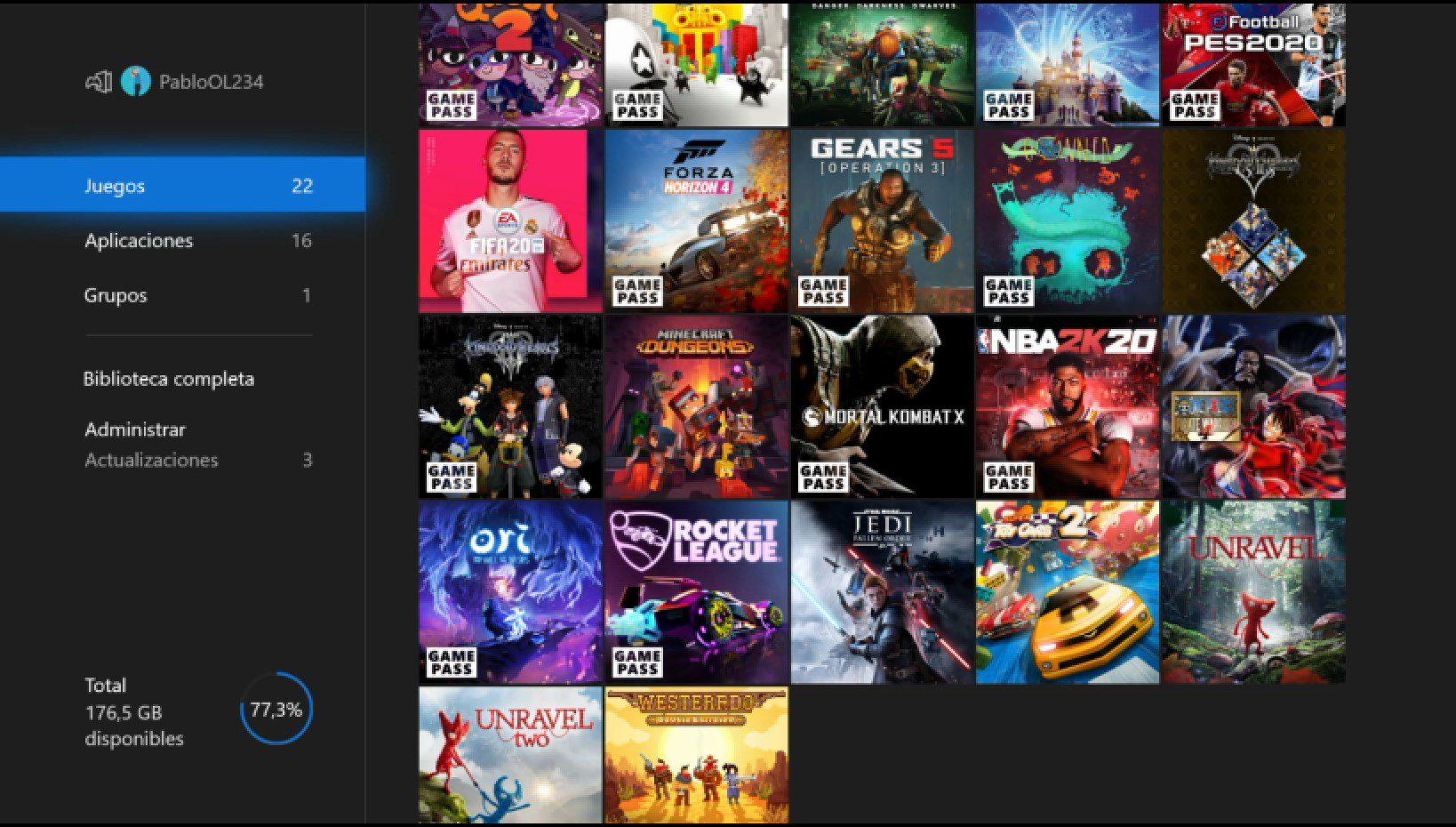 Nuevas funciones llegan a la nueva actualización de Xbox One