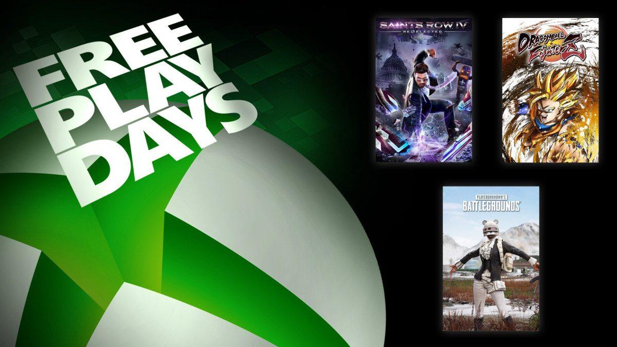 Ya disponibles 4 nuevos títulos gratuitos para disfrutar este fin de semana con los Free Play Days