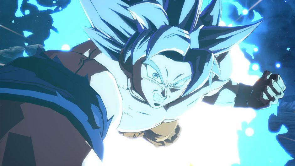 Goku Ultra Instinto, de Dragon Ball FighterZ, desatará todo su poder este mes