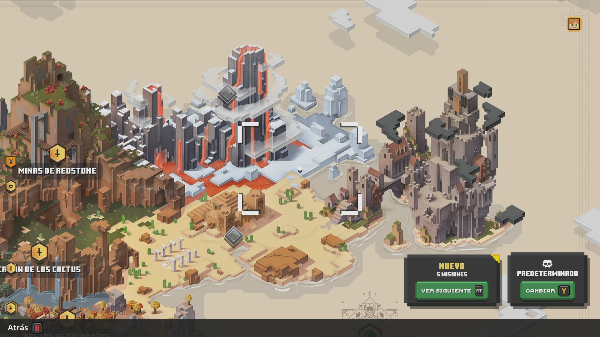 Mapa 2 en Minecraft Dungeons