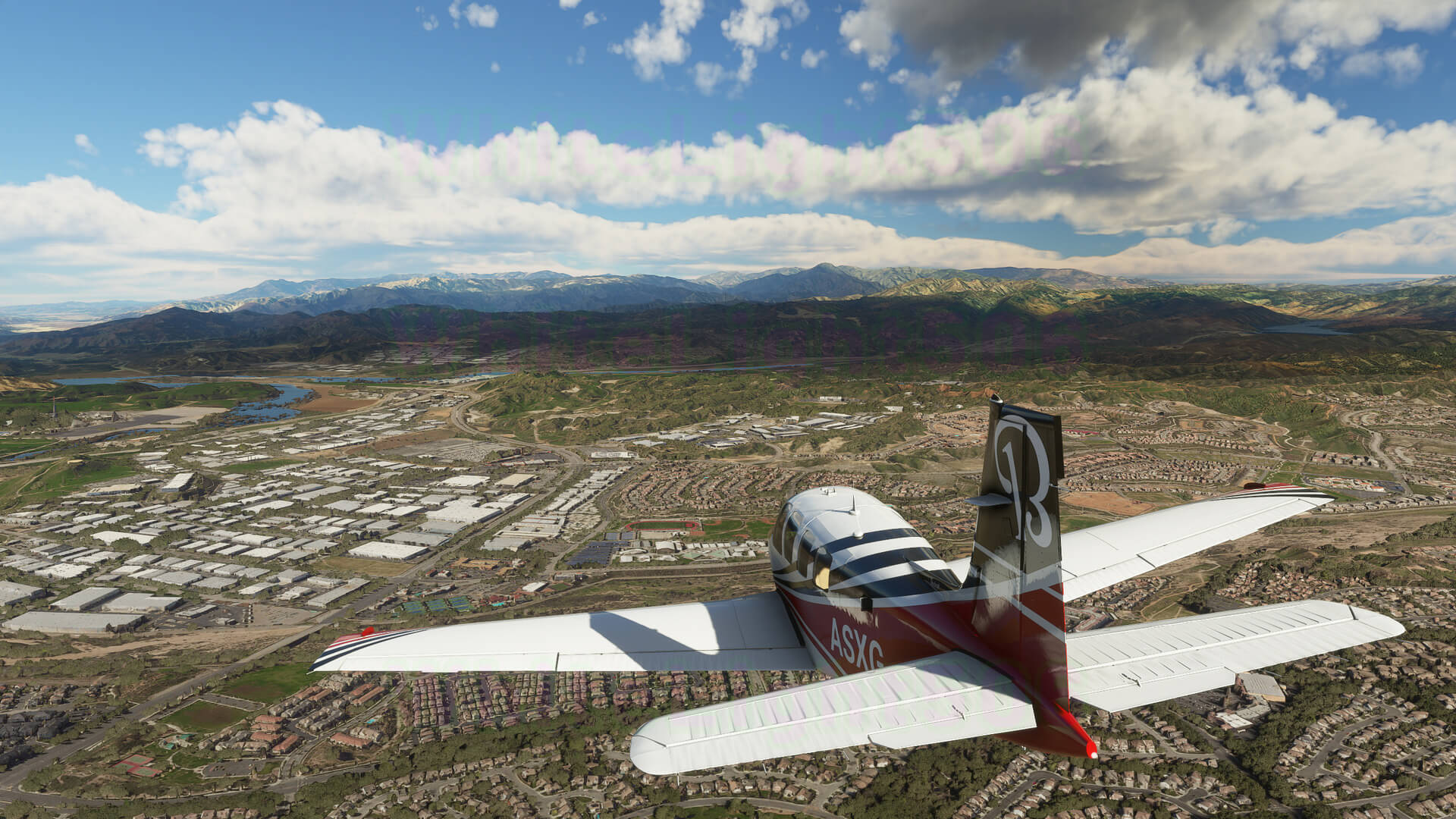 Microsoft Flight Simulator captura 2 avion