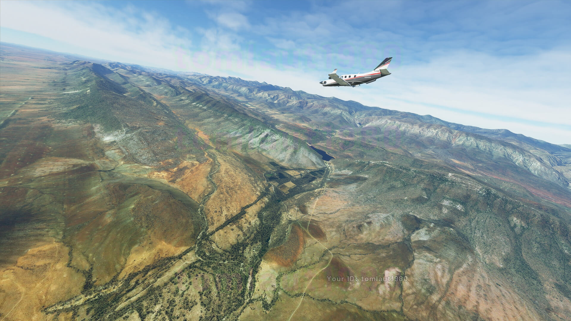 Microsoft Flight Simulator captura 4 paisaje
