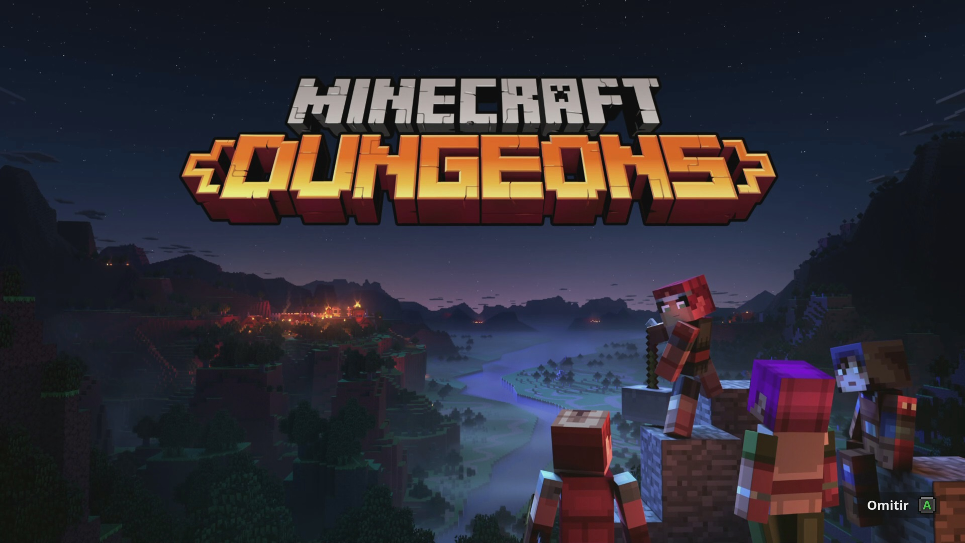 Minecraft Dungeons Portada Alternativa