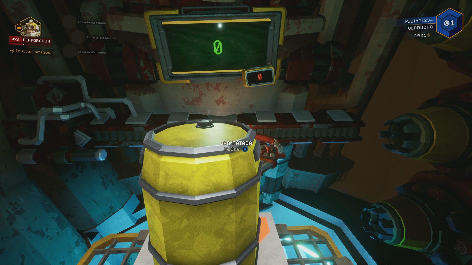 Barrel minigame in Deep Rock Galactic
