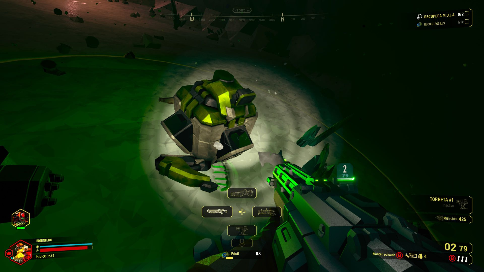 Remove MMA from Deep Rock Galactic