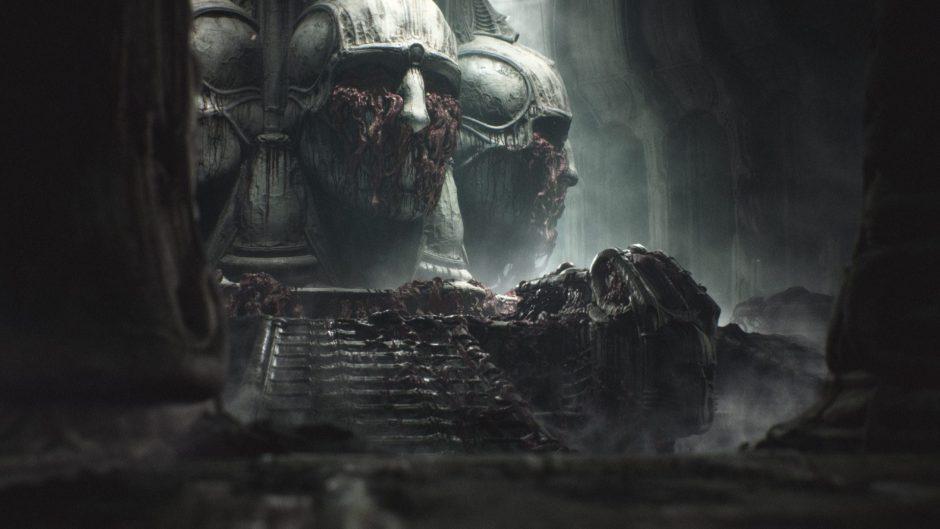 Scorn y el terror biomecánico de H. R. Giger