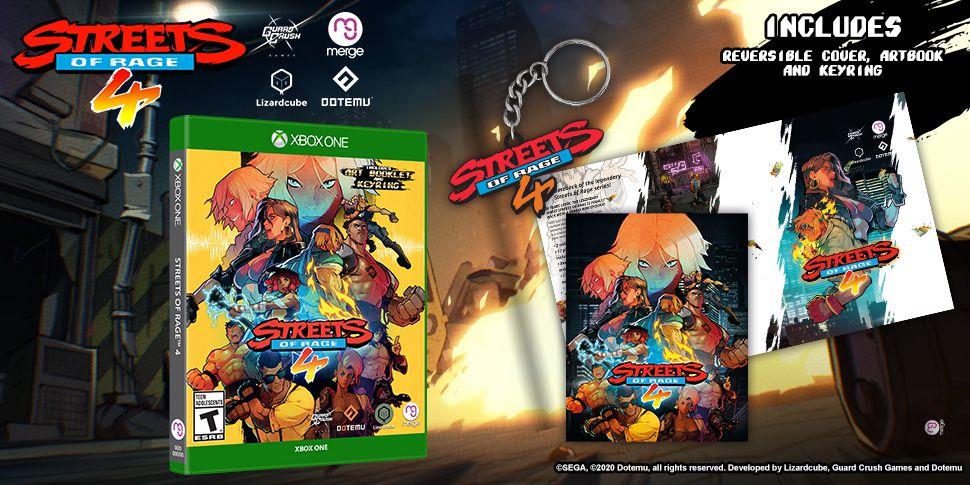 Anunciadas las ediciones físicas de Streets Of Rage 4