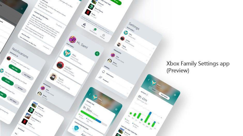 Xbox Family Settings llega a Android e iOS para los padres