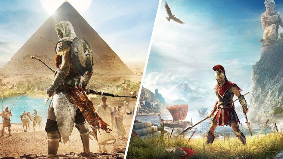 Descarga gratis el Discovery Tour de Assassin's Creed Origins y Odyssey