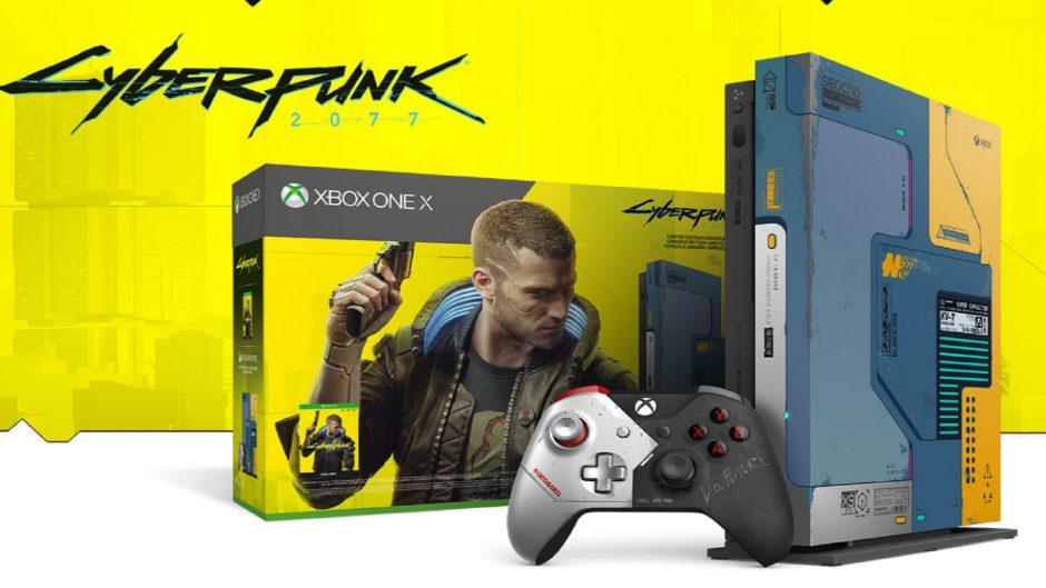 Este es el mensaje secreto que esconde la Xbox One X edición especial Cyberpunk 2077