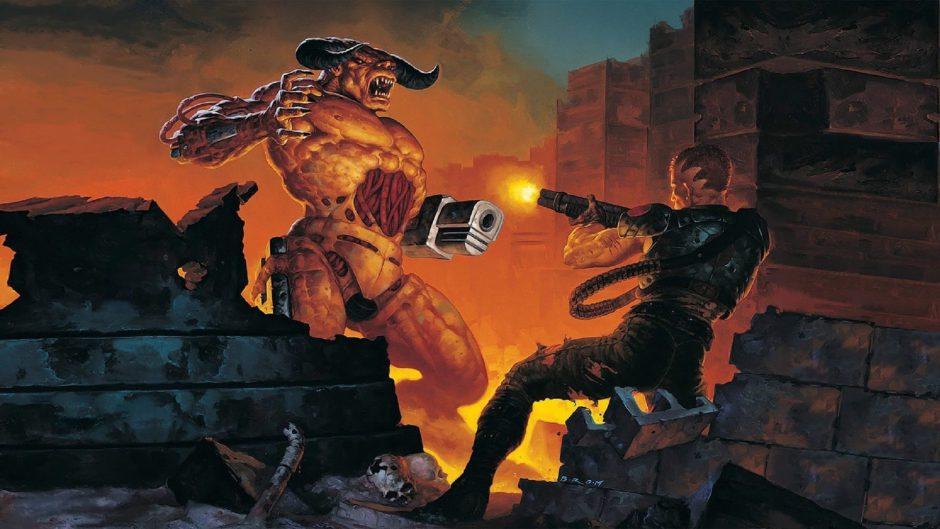 Mod convierte Doom 2 en un hack and slash cuerpo a cuerpo y en tercera persona
