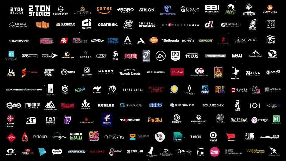 Estos son los 140 estudios que trabajan en juegos para Xbox Series X