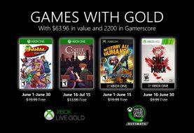 Ya están disponibles para descargar los primeros Juegos con Gold del mes de junio