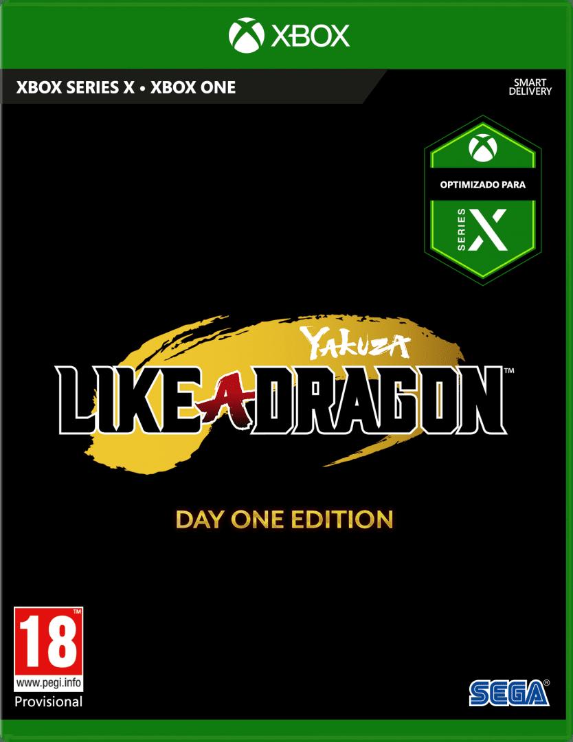 Caja de Yakuza Like a Dragon con Smart Delivery, Xbox Series X y Xbox One