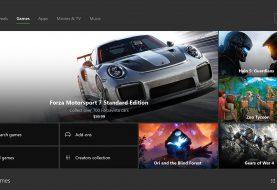 Mercury es el nombre en clave de una futura actualización para la tienda de Xbox