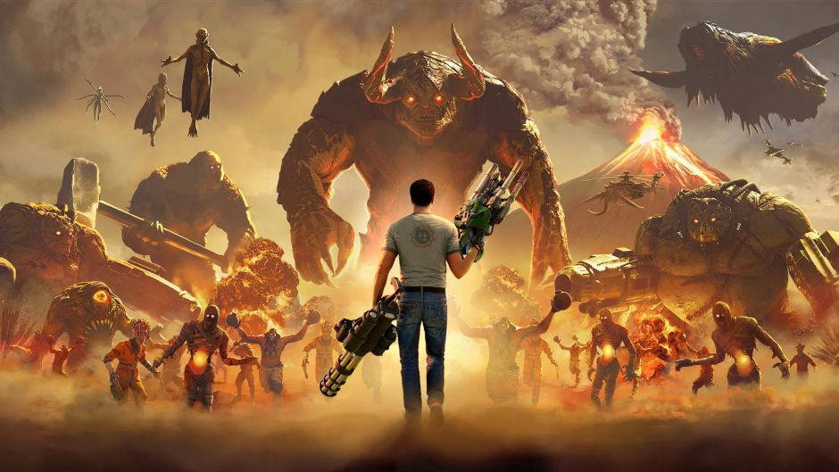Revelados los requisitos mínimos y recomendados de Serious Sam 4