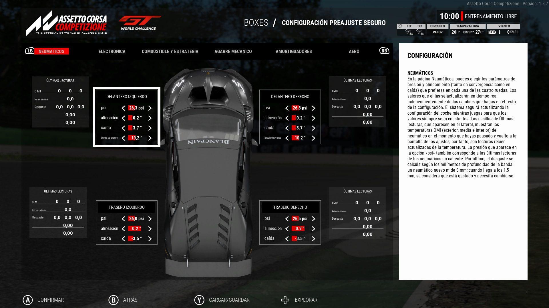 Análisis de Assetto Corsa Competizione