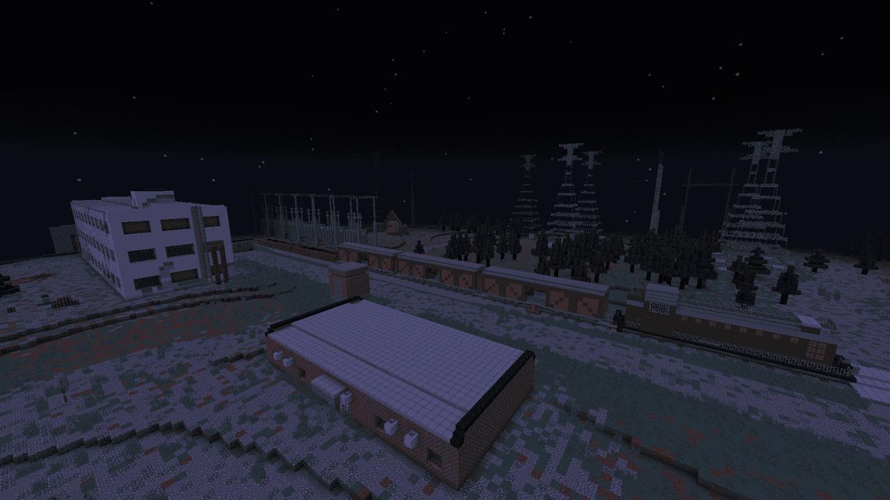 Chernobyl en Minecraft con antenas