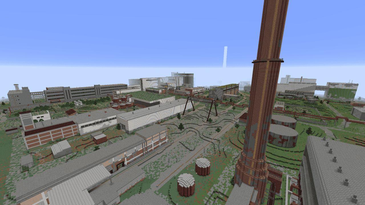 Chernobyl en Minecraft extension 2