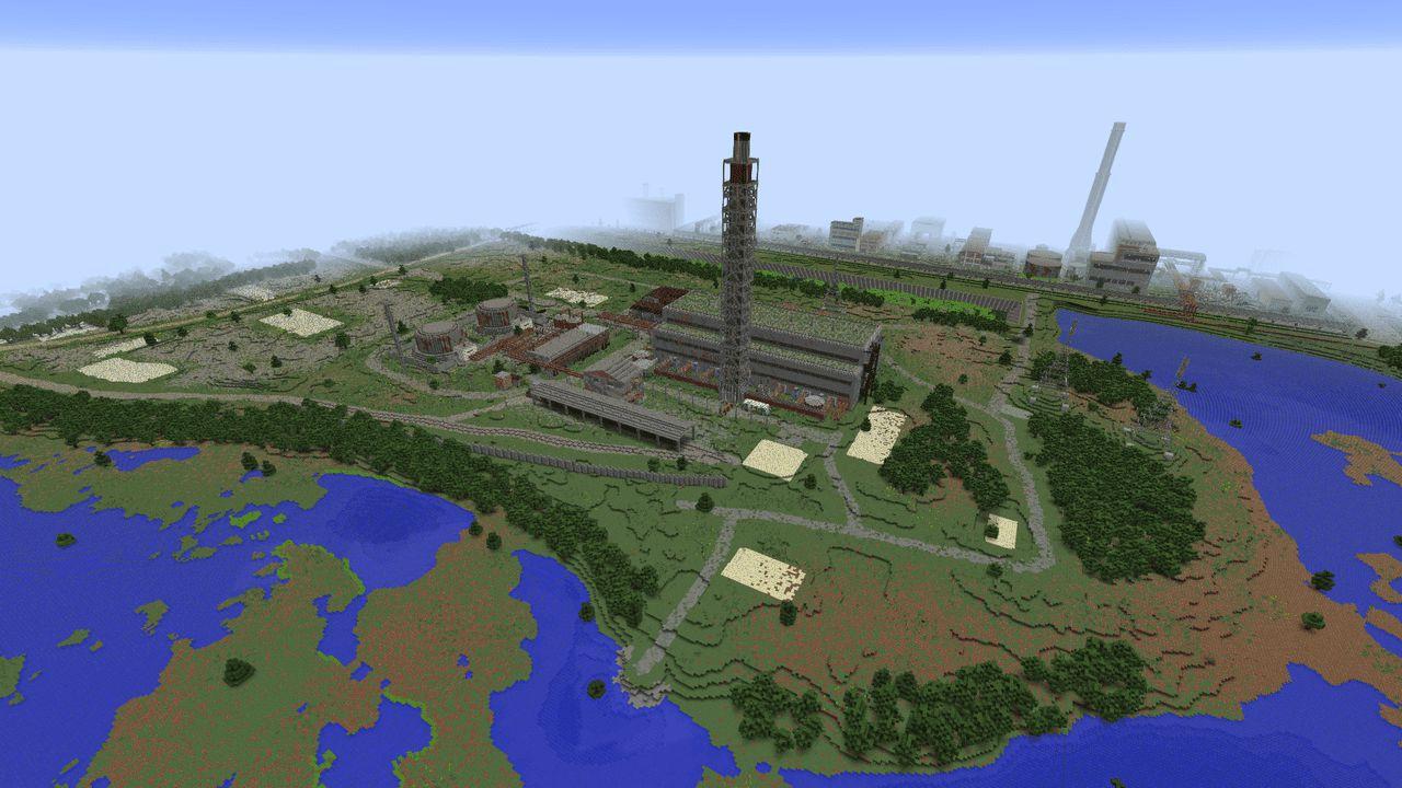 Chernobyl en Minecraft extension 3