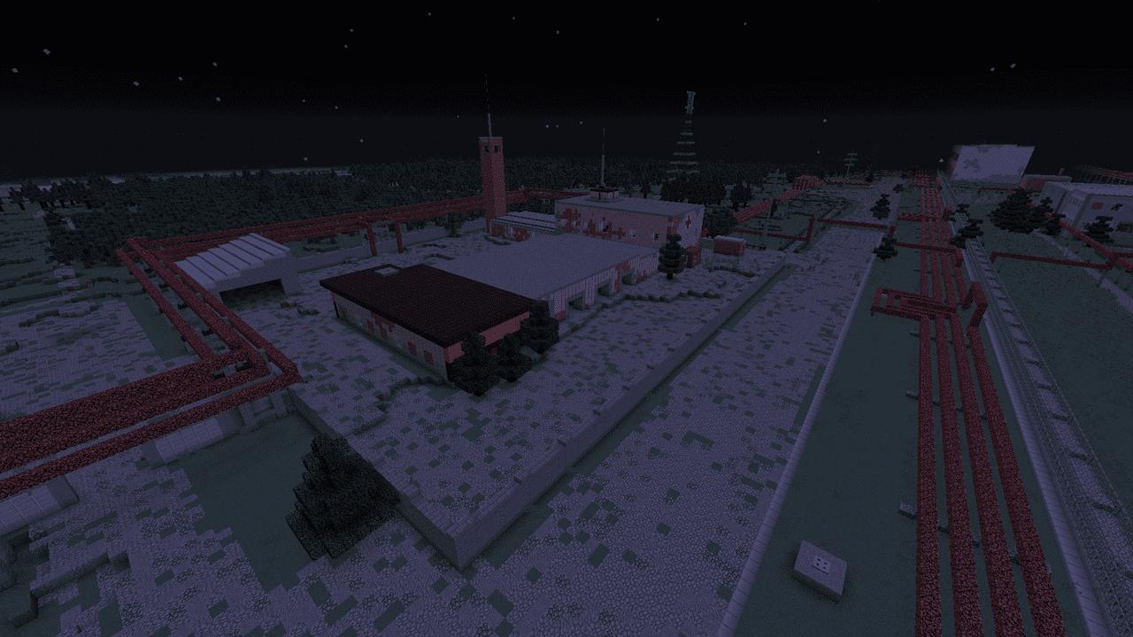 Chernobyl en Minecraft extension