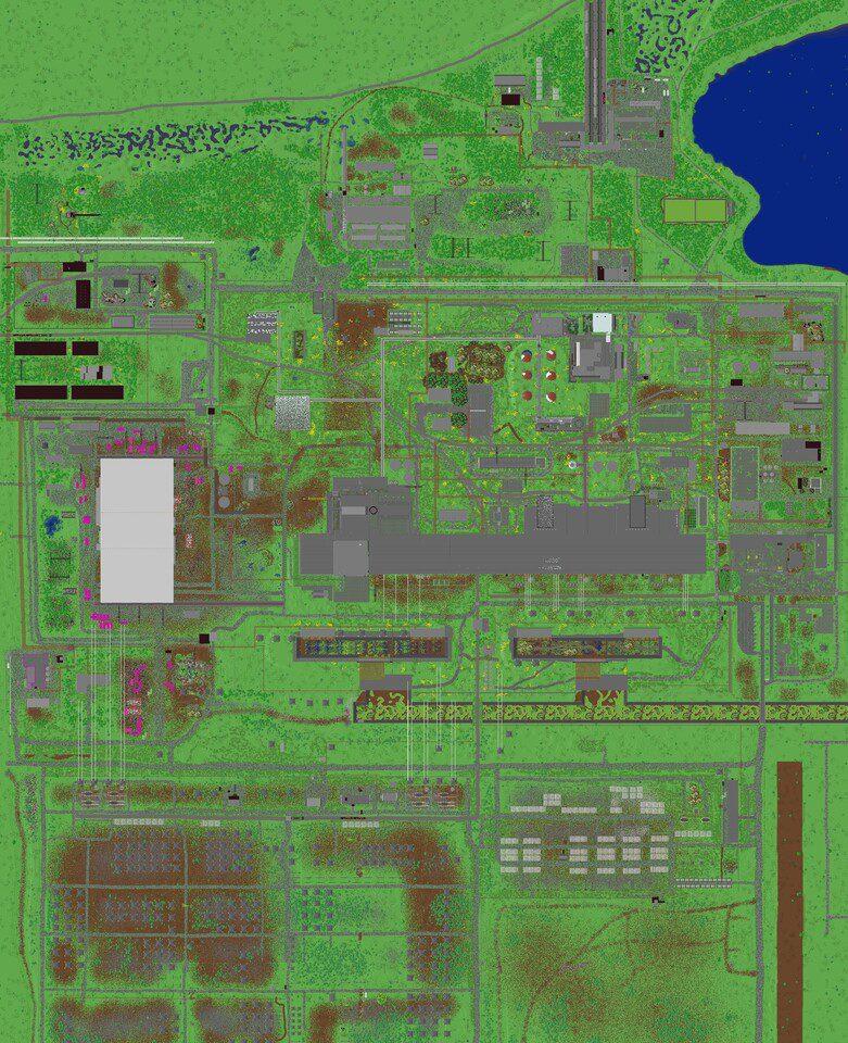 Chernobyl en Minecraft mapa