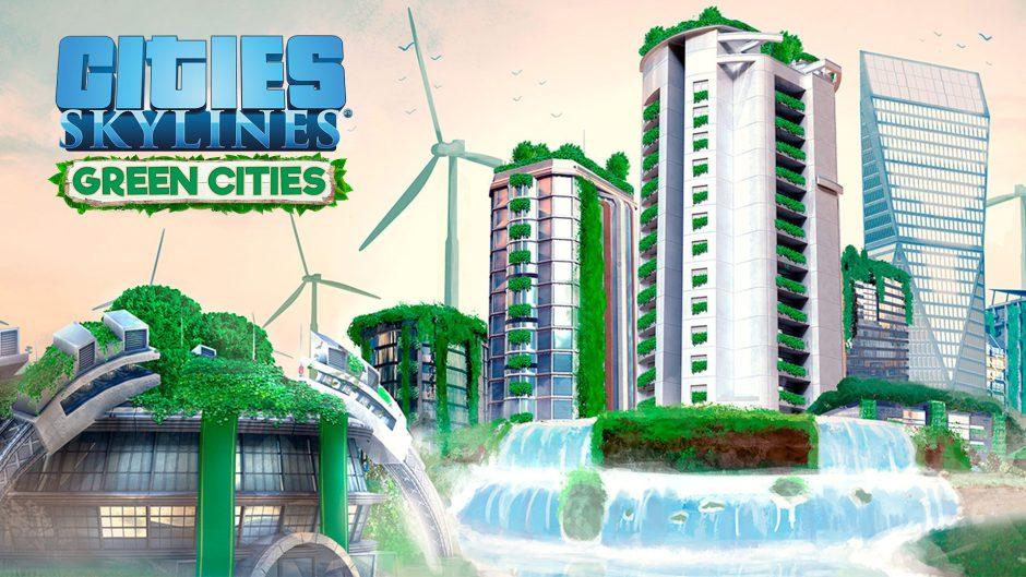 Descarga gratis Cities: Skylines – Green Cities por tiempo limitado