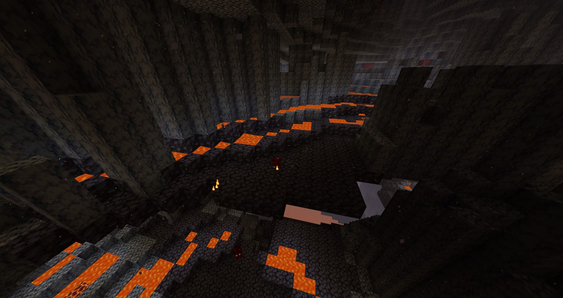 Deltas de basalto de Minecraft Nether Update
