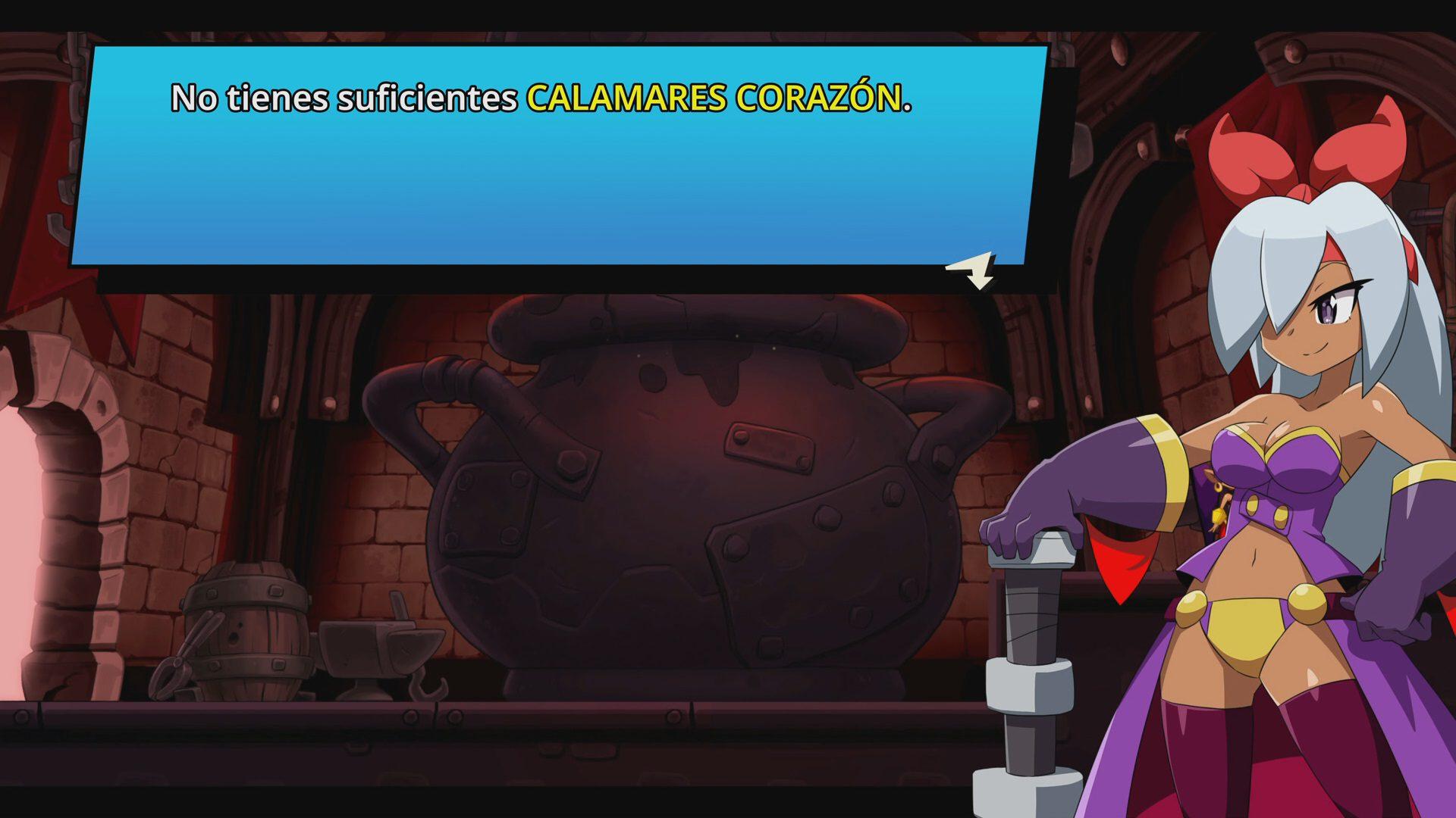 Diálogo en Shantae and the Seven Sirens