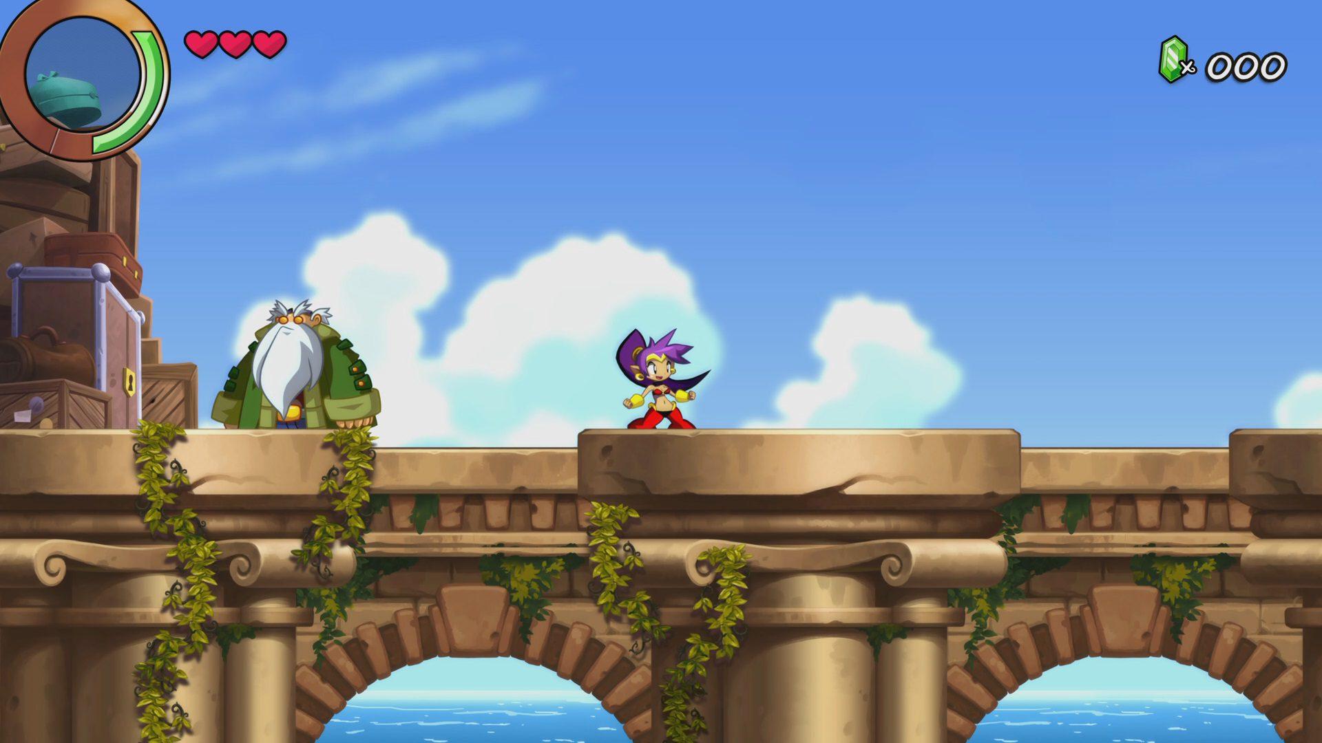 Escenario de Shantae and the Seven Sirens
