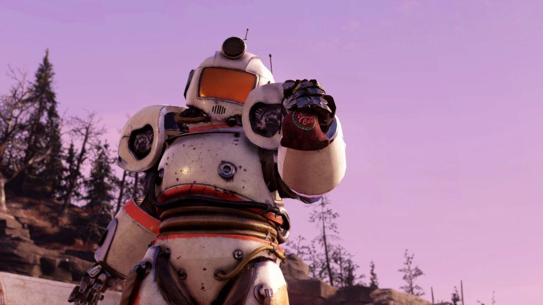 Fallout 76 - Captain Cosmos