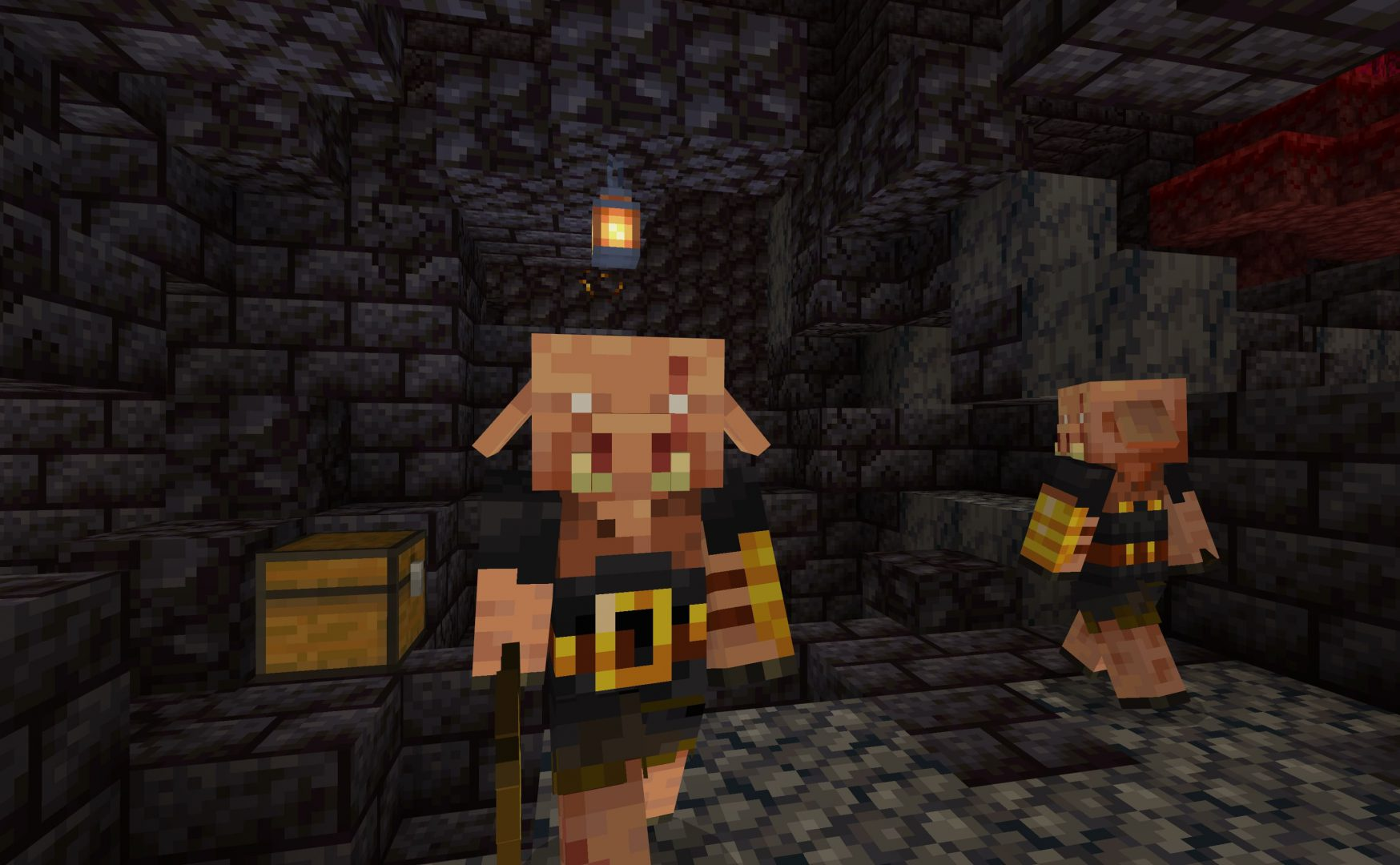 Piglin Brute en Minecraft Nether Update